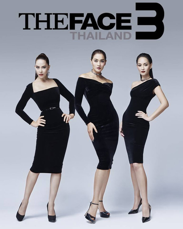 Bộ 3 quyền lực trong The Face Thailand