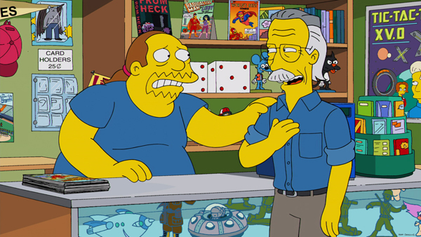 Tham gia lồng tiếng trong tập 'Married to the Blob' của The Simpsons ngày 12/1/2014.