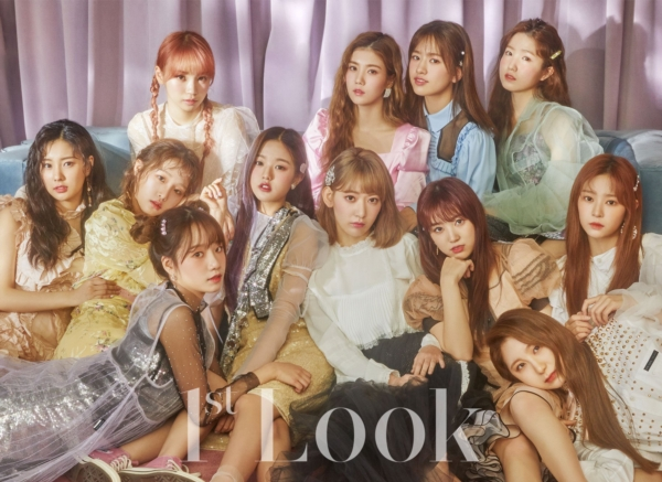 IZ*ONE trong album Eyes On Me