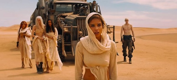Zoe Kravtiz trong Mad Max: Fury Road (2015).