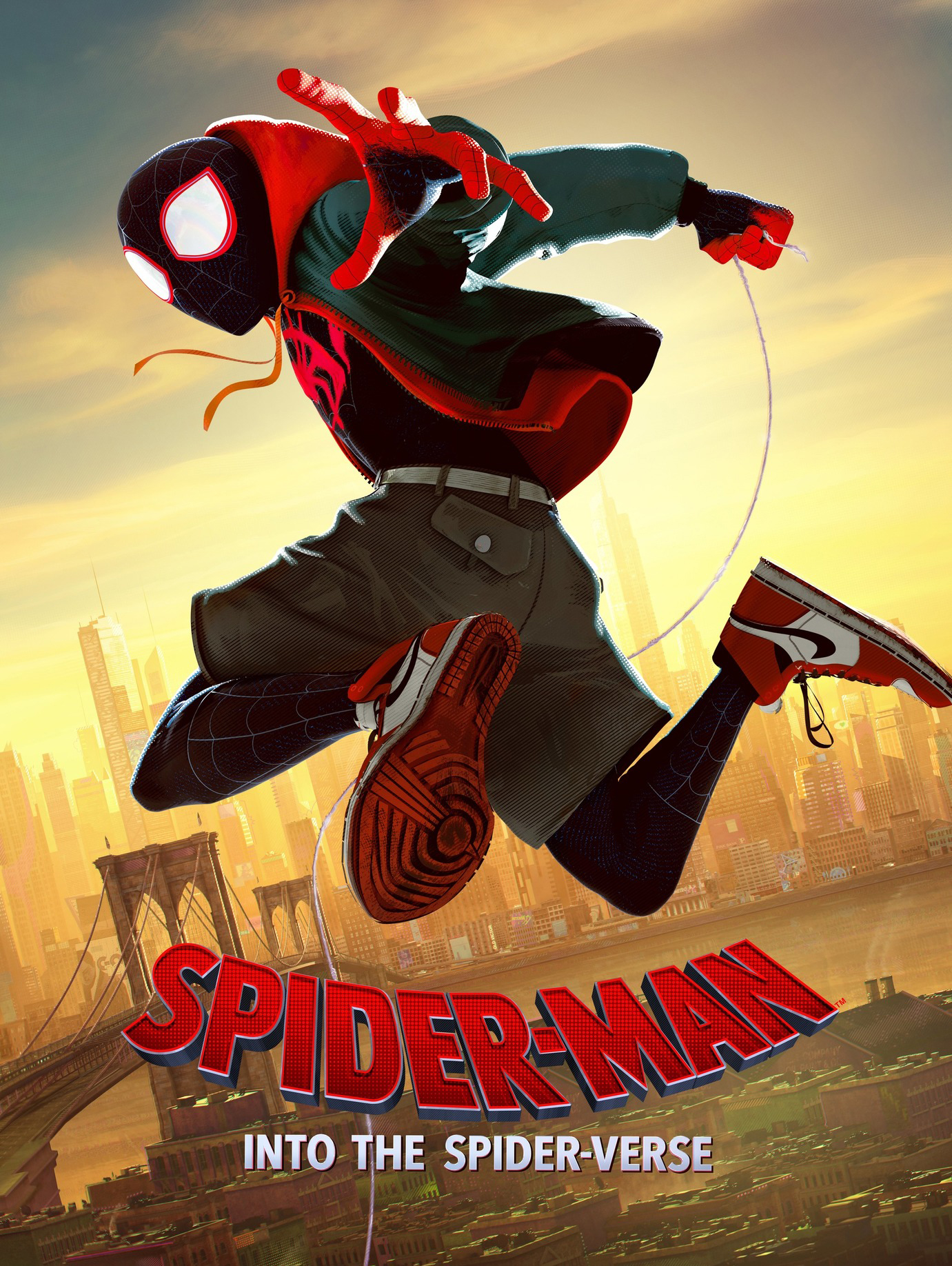 Poster phim Spider-Man: Into the Spider-Verse.