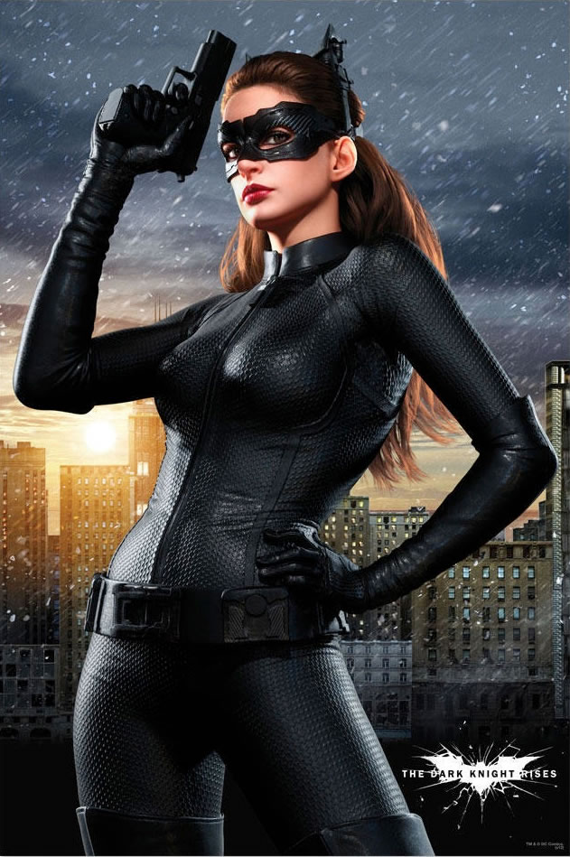 Catwoman do Anne Hathaway đảm nhiệm trong The Dark Knight Rises (2012)
