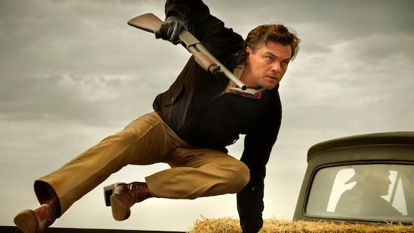 Leonardo trong phim Once Upon a Time in Hollywood.