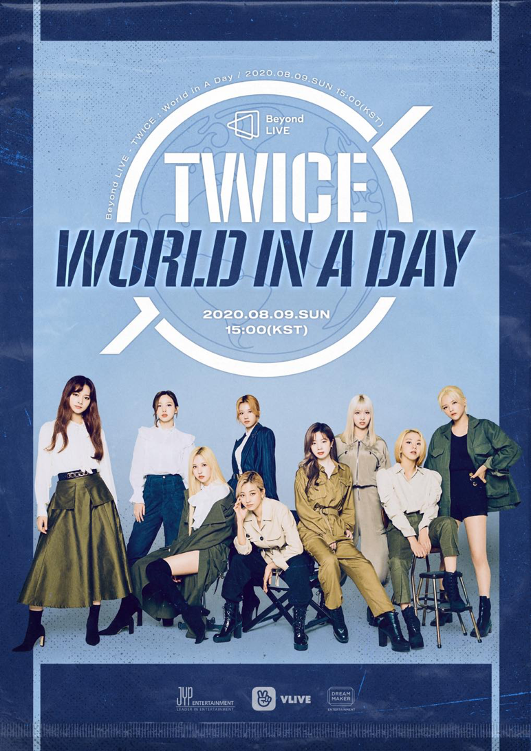 Poster của TWICE: World in a Day