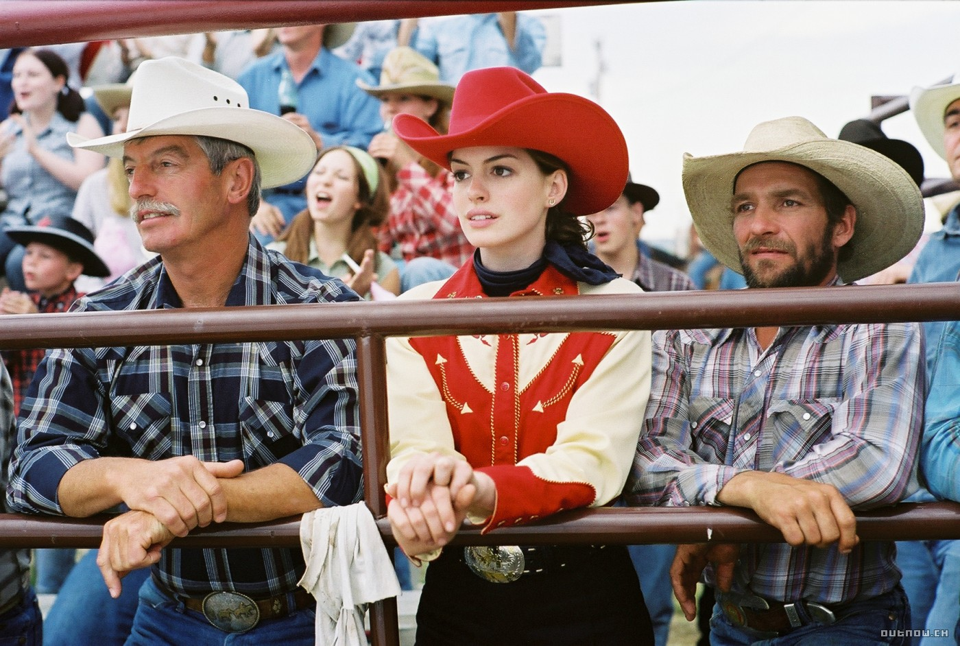 Anne Hathaway trong Brokeback mountain.