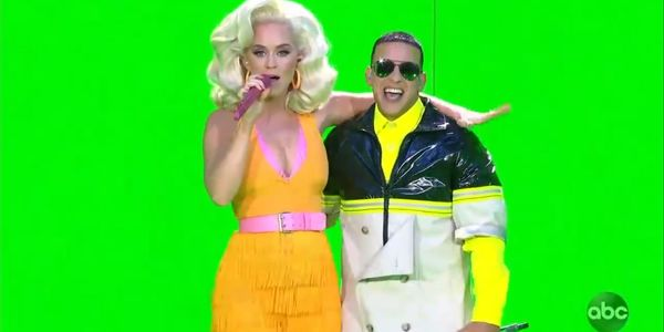 Katy Perry và rapper Daddy Yankee.