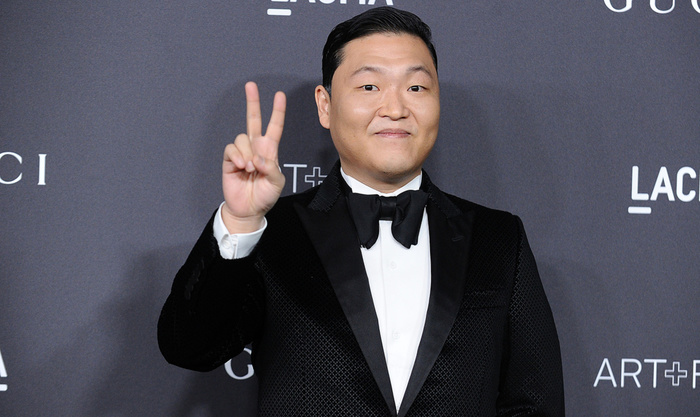 LOS ANGELES, CA - OCTOBER 29: PSY attends the 2016 LACMA Art + Film gala at LACMA on October 29, 2016 in Los Angeles, California. (Photo by Jason LaVeris/FilmMagic)
