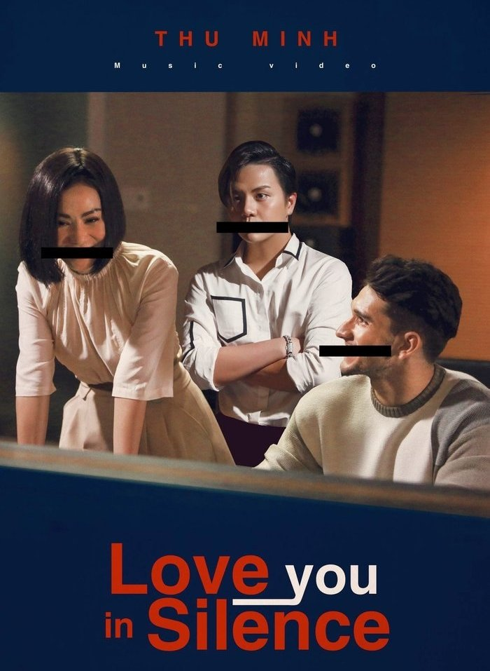 Poster MV Love You In Silence của Thu Minh.