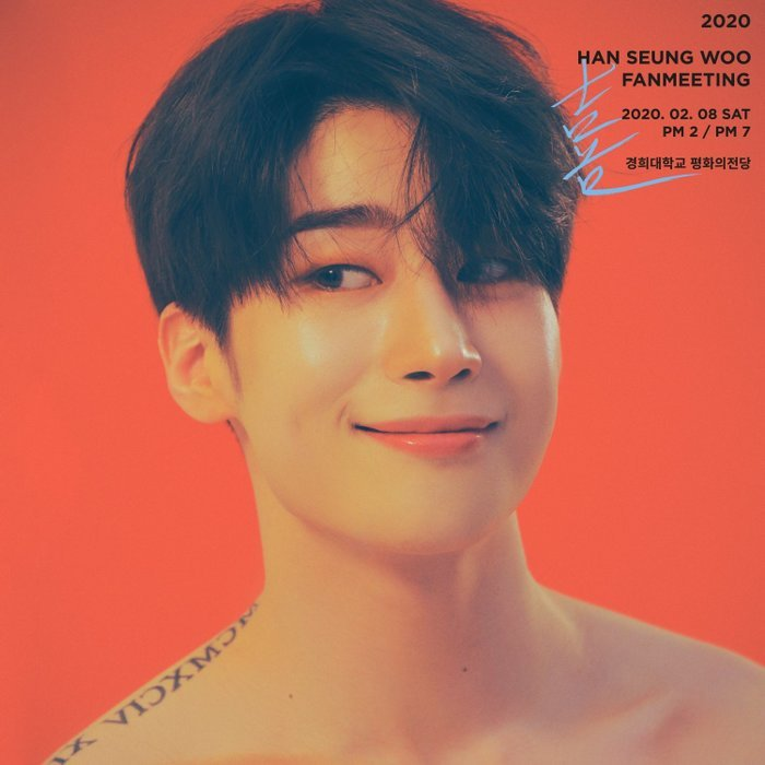 Poster fan meeting của Seungwoo.
