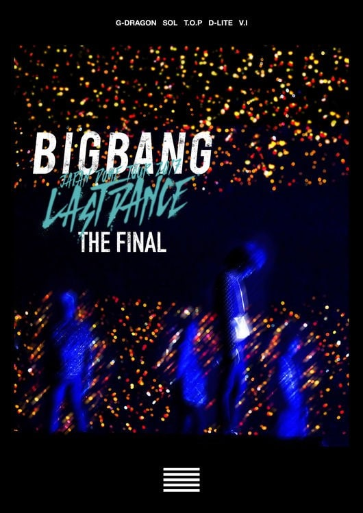 DVD BIGBANG Japan Dome Tour 2017 - Last Dance: The Final.