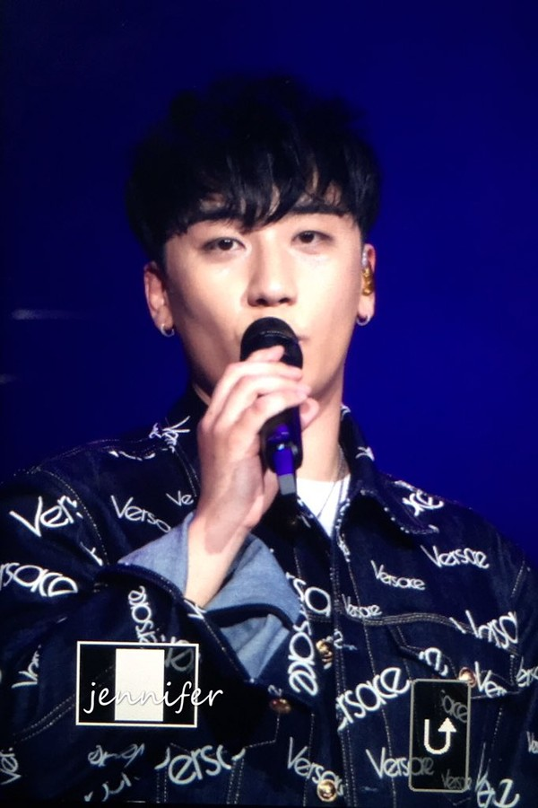 Seungri trong concert The Great Seungri Final in Seoul.