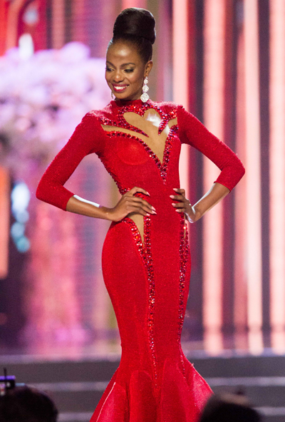 Top 6 Miss Universe 2016 - Mary Esther Were người Kenya.