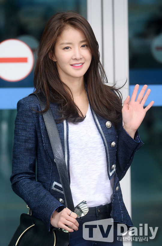 Lee Si Young.