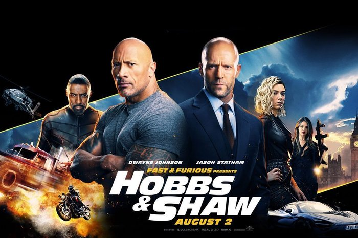 The Rock trong Fast & Furious Presents: Hobbs and Shaw