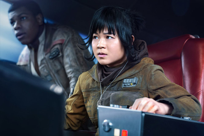 Kelly Marie Tran trong 'Star Wars'