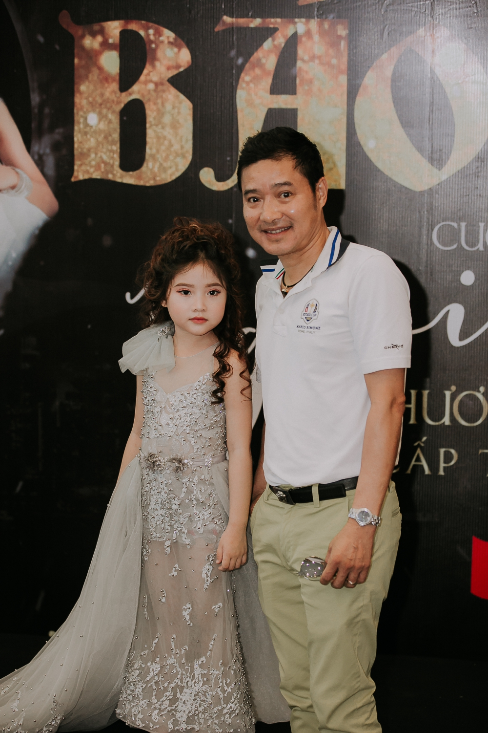 Khanh Van will participate in a beauty contest for children in 2019.